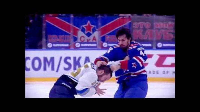 Damir Ryspayev 2014 2016 KHL action