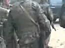 Грузинские солдаты берут в плен югоосетинских бойцов. Южная Осетия, Цхинвал, 8 августа 2008 года