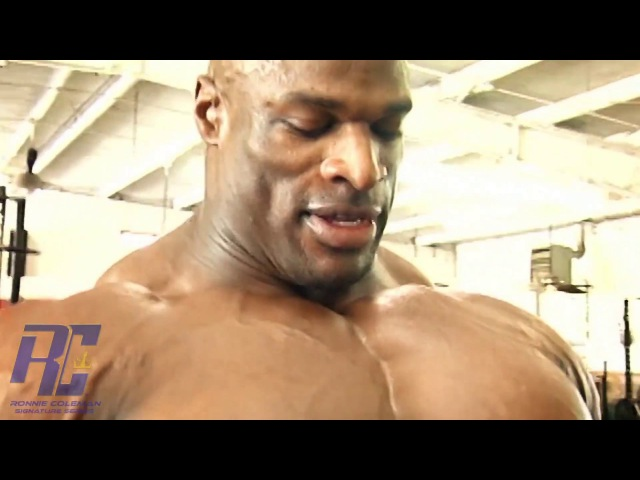 Ronnie Coleman The Unbelievable DVD in 1080 HD | Part 5 Chest Tris