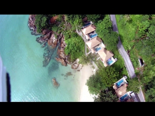 Тайланд - Ко чанг, koh chang - lonely beach & white sand аэросъемка №3