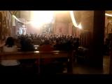 Закрытие I Международного Пасхального фестиваля. Академический хор студентов дирижерского факультета НГК им. М. И. Глинки