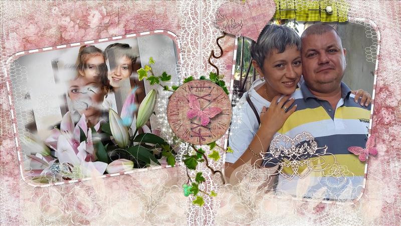 Юбилей хрустальной свадьбы 15лет
