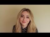 Сабрина сообщает о том, что она снова встретится с фанатами в мае!