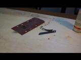 """Как сделать кольцо из шпона """"Ледяной Эбен"""". Bentwood Ring DIY"""