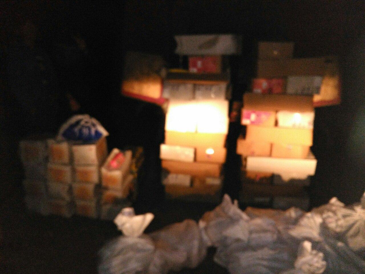 Несовершеннолетнего украинца и гражданина РФ задержали за контрабанду продуктов через границу