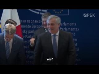 Украина и ЕС подписали соглашение о безвизовом режиме в Страсбурге