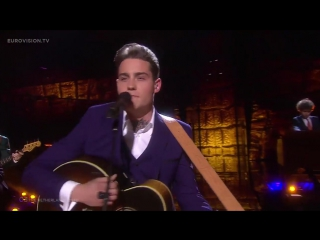Финал конкурс Евровидение-2016 LIVE - Douwe Bob - Slow Down (The Netherlands) Grand Final 14 05 2016