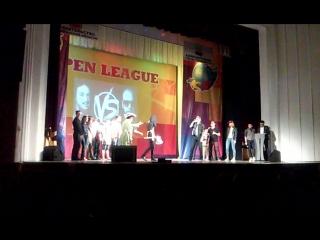 команда квн Блондинка в шоколаде open лига (музыкальный номер)