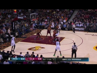 Cleveland Cavaliers - Minnesota Timberwolves on Quicken Loans Arena 01.02.2017
