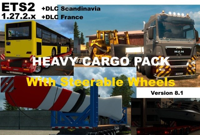 Heavy Cargo Pack v 8.1