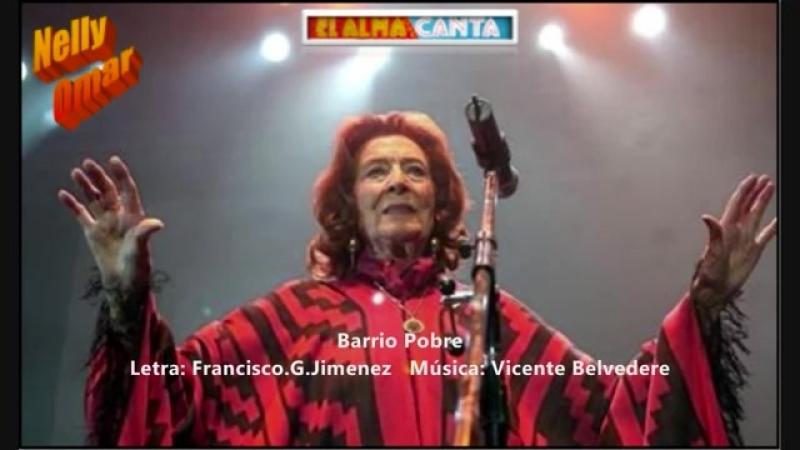 Nelly Omar - Barrio pobre - TANGO