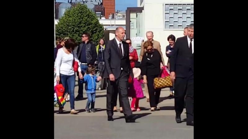 Алла Пугачёва с детьми в Юрмале (2016)