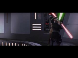 Qui-Gon Jinn & Obi-Wan Kenobi vs Darth Maul