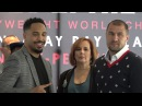 Andre Ward vs Sergey Kovalev First Time They See Eachother Since Last Fight EsNews Boxing