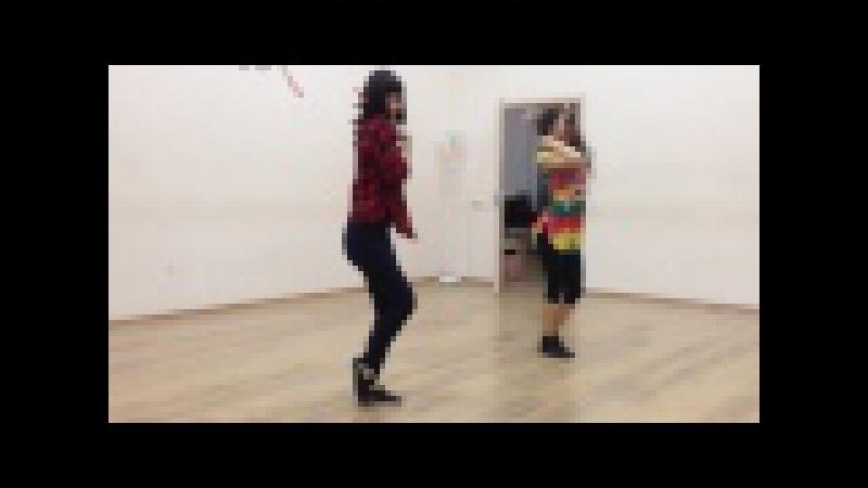 Bachata, Elvina and Regina, DiDance Studio, Ufa, Russia. Usher ft. David Posso–Climax