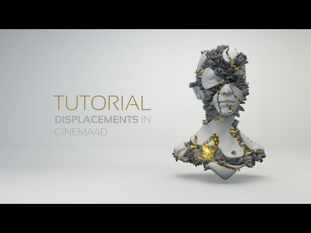Displacement Maps in Cinema4D | Tutorial