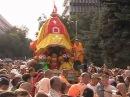 2003-09-13 RathaYatra in Almaty with BB Govinda Swami