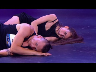 Танцы: Лена Колчина и Семён Шалаев (БАСТА - CrazyMFLove) (сезон 3, серия 3)