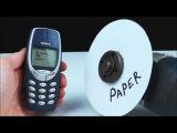 СМОЖЕТ ЛИ БУМАГА РАЗРЕЗАТЬ Nokia 3310 ???