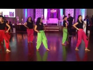 Tamil/Hindi Dance at Reception