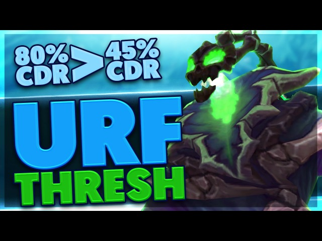 80% CDR THRESH IS SO CRAZY | 45% CDR WILL NEVER FEEL THE SAME | URF THRESH |RP GIVEAWAY | BunnyFuFuu