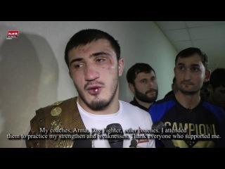 Рамазан Эмеев: Токов входит в тройку моих самых опасных соперников