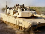 M1126 Stryker IAV Interim Armored Vehicle and M1 Abrams main battle tank American in Europe