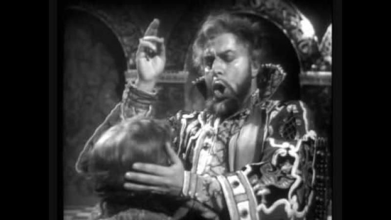 Boris Christoff Death scene of Boris Godunov - part I of II