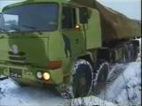Tatra 10x10 in siberia