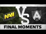 WATCH FIRST: FINAL FIGHT - Na`Vi vs Alliance @ Showmatch