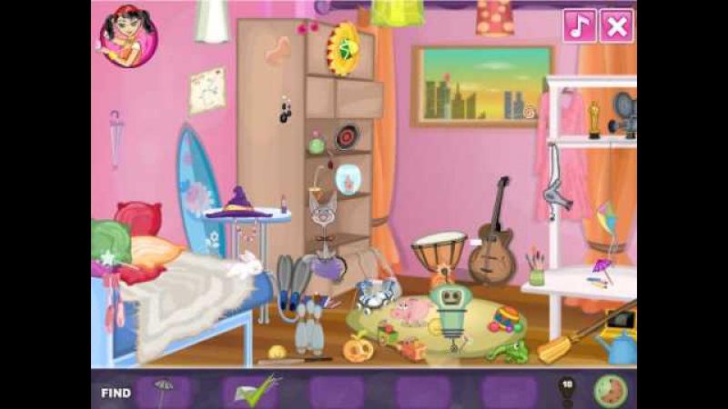 NEW мультик для девочек—Сумасшедшая комната Дженни—Игры для детей