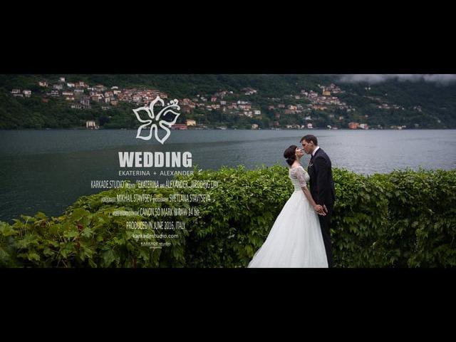 Свадьба в Италии, на озере Комо. Wedding in Italy, Como lake