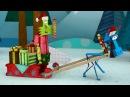 Бумажки - Новогодняя история - мультфильм для детей - поделки своими руками -👍✍ ...