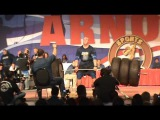 Arnold Strongman 2011 - Clips 26 to 39 - Apollon's Wheel - Deadlift