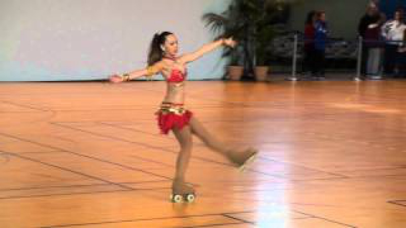 Issy International Roller Dance Competition - Free Dance Lia Bassetto