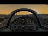 Полет над Санкт-Петербургом на JCS T-38A в X-Plane 10 (Ride over Saint-Peterburg in Talon)