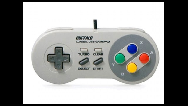 Buffalo Super Nintendo USB Gamepad for PC