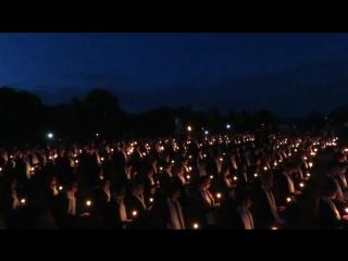 факельное шествие в Семикаракорске