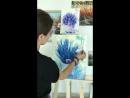Обучение Адлер для взрослых. ''Пошаговый Мастер-класс Картина Маслом за одно занятие 1500р 4 часа!, 🌷🌷 ''Нежный Прованс. Лаванд