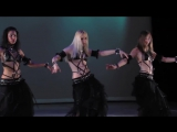 The Wolves Belly Dance performance Neon with Angelys Jenna Rey