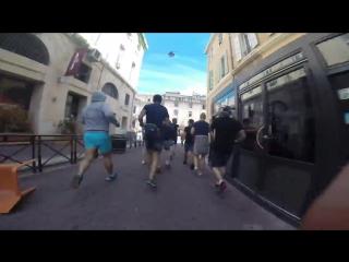 Euro 2016 11.06.2016 Marselle Russian vs England hooligans