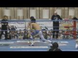 Atsushi Aoki, Dory Funk Jr., Yusuke Okada vs. Naoya Nomura, Yuma Aoyagi, Osamu Nishimura (AJPW - Champion Carnival 2017 - Day 6)