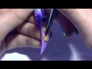 3D Cat and Yarn Acrylic Nail Art Design Tutorial