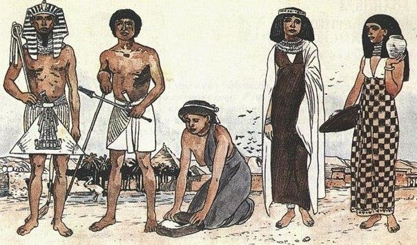Мудрость фараона или как появились деньгиСмотрите, – сказал фараон ж