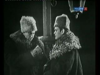 Сергей Юрский в телеспектакле «Кюхля» (1963). Режиссёр: Александр Белинский