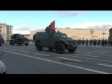 St.Petersburg 2017 Victory Day Parade rehearsal