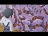 Наруто, Сакура, Сай и Ямато против Саске