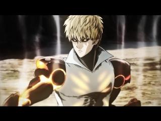 Генос против Сайтамы (One-Punch Man)