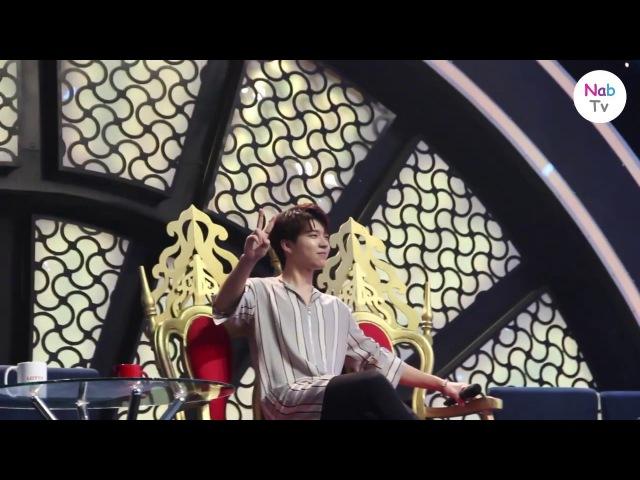 [Nab TV] Các thành viên INFINITE hài hước trong buổi tổng duyệt tại Việt Nam