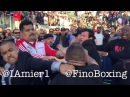 Fan ATTACKS Victor Ortiz after losing to Andre Berto